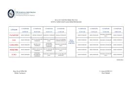 19.09.2016 Okul Müdürü 2016-2017 EĞİTİM ÖĞRETİM YILI