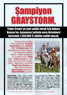 """Triple Crown""""un yeni sahibi olmak için Ankara"""