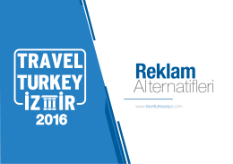 Reklam - Travel Turkey İzmir