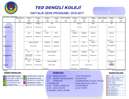 2 - TED Denizli Koleji