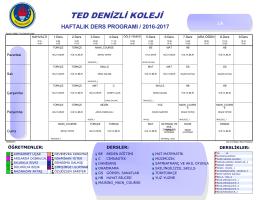 1 - TED Denizli Koleji