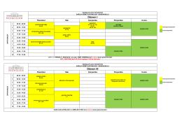 Ders Programı - Bezmialem Vakif Universitesi