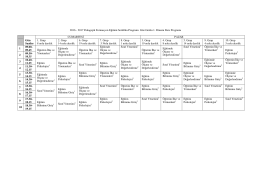 2017 Pedagojik Formasyon Eğitimi Sertifika Programı Güz Grubu 1