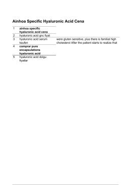 Hyaluronic Acid Gnc Fiyat