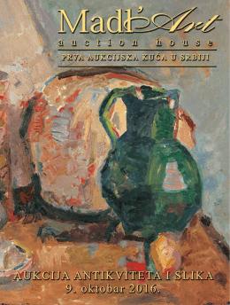 44. Aukcija antikviteta i slika