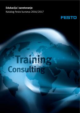 Edukacija i savetovanje Katalog Festo kurseva 2016