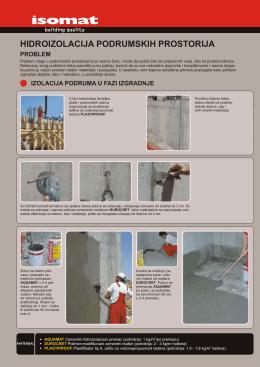 hidroizolacija podrumskih prostorija