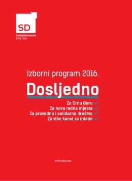 Izborni program