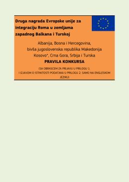 Druga nagrada Evropske unije za integraciju Roma u