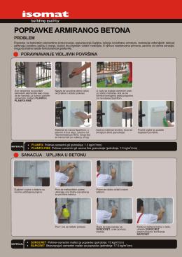 popravke armiranog betona