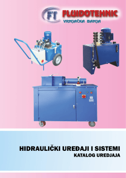 Pogledajte katalog - Hidraulični uređaji i sistemi