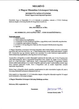 Olvasható: Itt - Magyar Dinamikus Lövészsport Szövetség