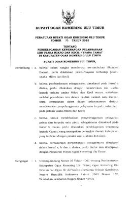 perbup-no-29-tahun-2015 - BPK RI Perwakilan Provinsi Sumatera