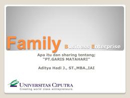 Perusahaan Keluarga