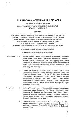 Undang-Undang Nomor 5 Tahun 2014 tentang Aparatur Sipil