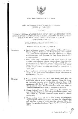 perbup-no-27-tahun-2015 - BPK RI Perwakilan Provinsi Sumatera