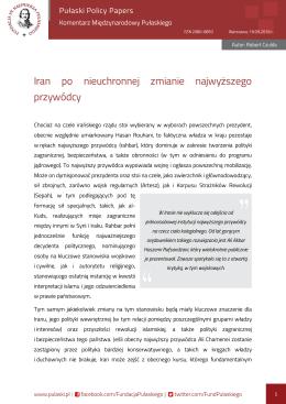 Pobierz artykuł w formacie PDF. - Fundacja im. Kazimierza Pułaskiego