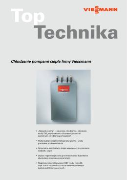 Chłodzenie pompami ciepła firmy Viessmann