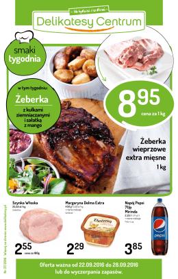 Gazetka w PDF - Delikatesy Centrum