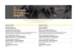 2016_ZHfestival_PROGRAM - Festiwal im. Zygmunta Haupta