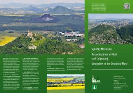 Vyhlídky Mostecka Aussichtstürme in Most und Umgebung