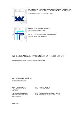 document [] - Vysoké učení technické v Brně