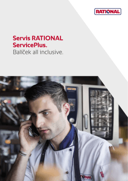Servis RATIONAL ServicePlus.
