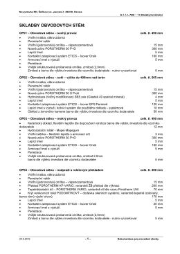 Seznam dokumentace