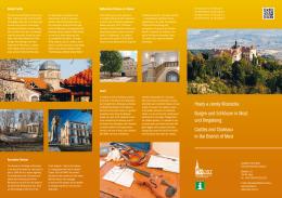 Hrady a zámky Mostecka Burgen und Schlösser in Most und