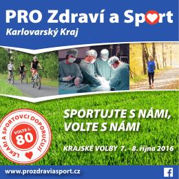 Zdravotnictví - PRO Zdraví a Sport