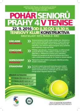 turnaj seniorů - Tenisový klub Konstruktiva