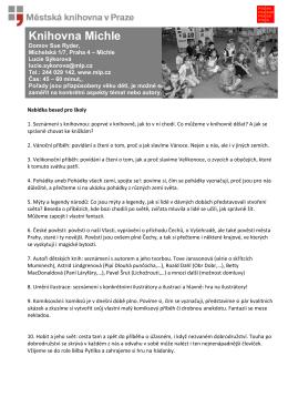 Besedy pro školy v pdf!