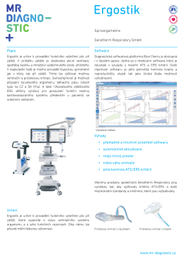 Ergostik - MR Diagnostic