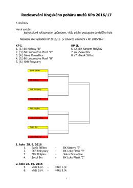 Rozpis mistrovských soutěží KP 2002/03 Plzeňského