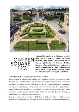 Open Square_Tisková zpráva