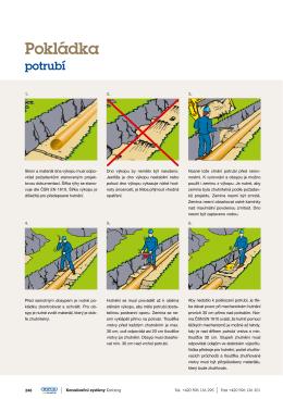 Jak na pokládku potrubí