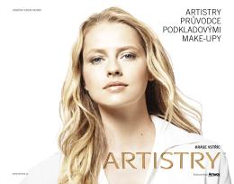 artistry průvodce podkladovými make-upy