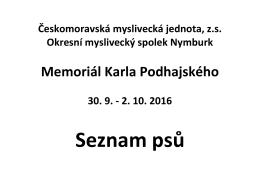Memoriál Karla Podhajského