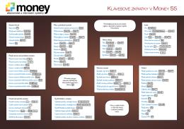 Klávesové zKratKy v Money s5
