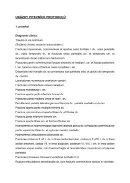 ukázky pitevních protokolů