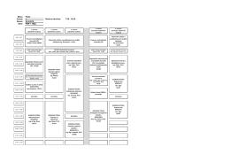 Rozvrh 1. společné konzultace 24.9.2016