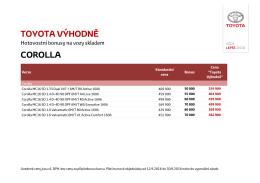 corolla - Toyota