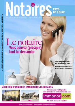 """Journal des Notaires """"Notaires Pays-de"""