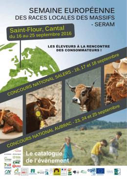 SERAm - 2016 - Saint Flour