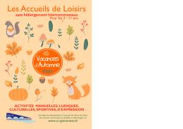 Les Accueils de Loisirs - Communauté des Communes Giennoises