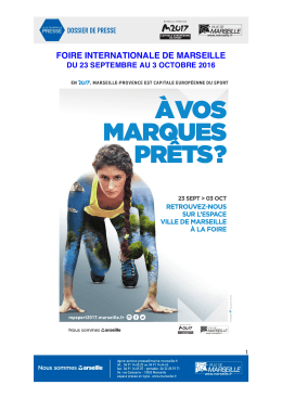 dp foire ii - Ville de Marseille