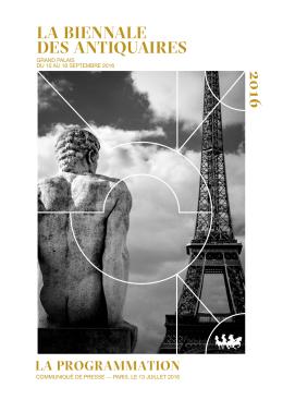 Télécharger en PDF - Biennale des Antiquaires 2016