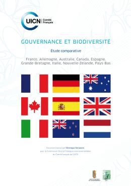 gouvernance et biodiversité
