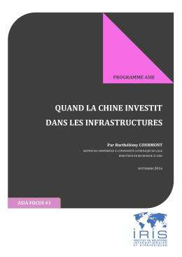 quand la chine investit dans les infrastructures