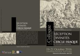 VIIe Colloque isiaque_Toulouse 2016_Programme